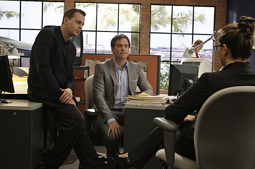 Navy CIS : Bild Michael Weatherly, Noa Tishby, Sean Murray
