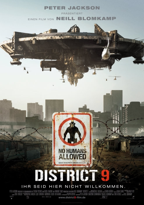 District 9 : Kinoposter