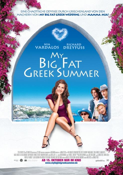 My Big Fat Greek Summer : Kinoposter