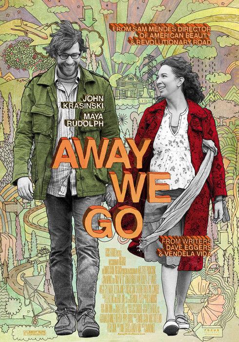 Away We Go - Auf nach Irgendwo : Kinoposter