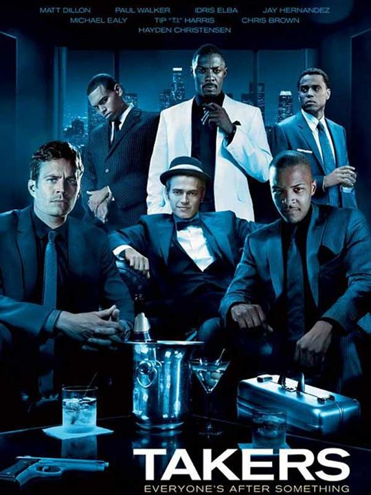 Takers : Kinoposter