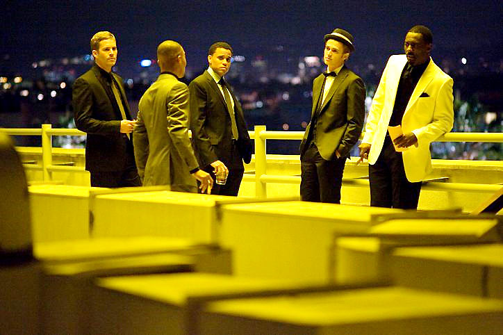 Takers : Bild Chris Brown, Hayden Christensen, Idris Elba, Michael Ealy, Paul Walker