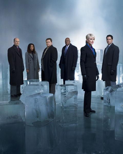 Cold Case - Kein Opfer ist je vergessen : Bild Danny Pino, Jeremy Ratchford, John Finn, Kathryn Morris, Thom Barry