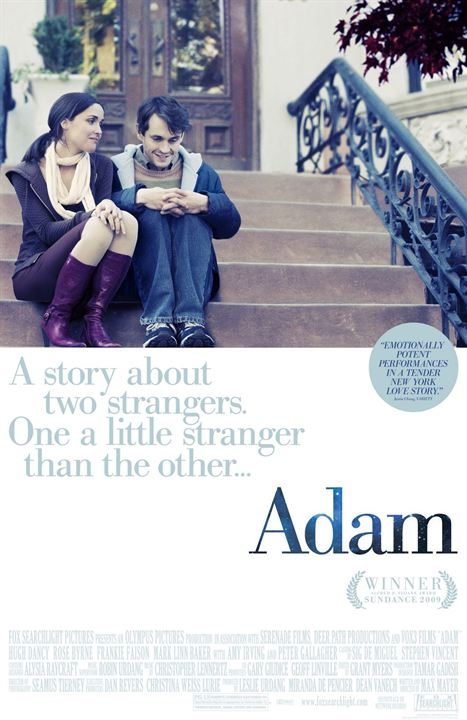 Adam - Eine Geschichte über zwei Fremde. Einer etwas merkwürdiger als der Andere : Kinoposter