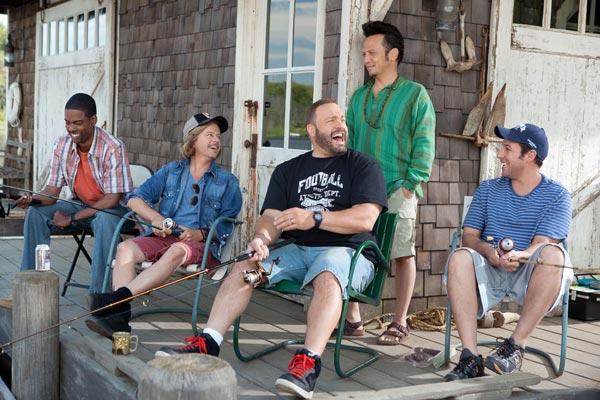 Kindsköpfe : Bild Adam Sandler, Chris Rock, David Spade, Dennis Dugan, Kevin James