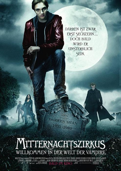 Mitternachtszirkus - Willkommen in der Welt der Vampire : Kinoposter