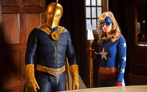 Smallville : Bild Brent Stait, Brittney Irvin
