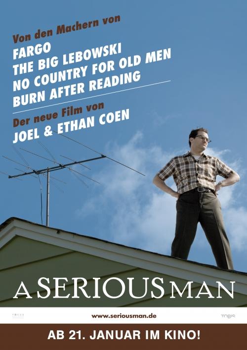 A Serious Man : Kinoposter