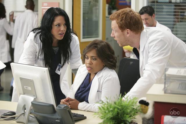 Grey's Anatomy - Die jungen Ärzte : Bild Chandra Wilson, Kevin McKidd, Sara Ramirez