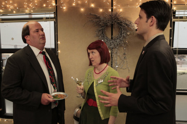 The Office (US) : Bild Brian Baumgartner, Kate Flannery, Zach Woods