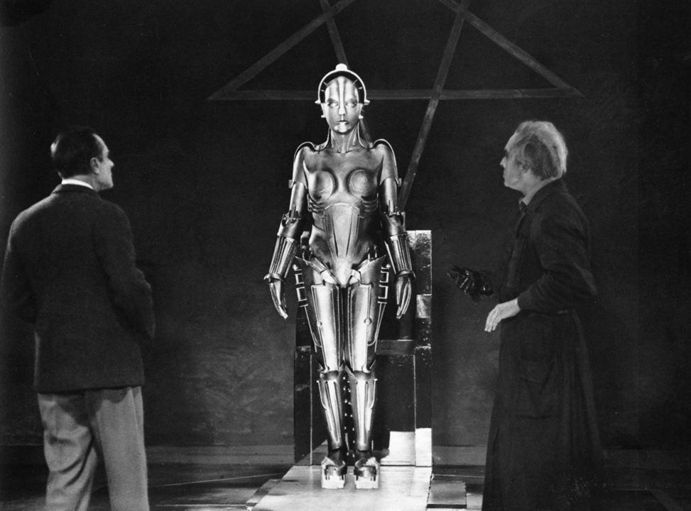 Metropolis : Bild Alfred Abel, Brigitte Helm, Fritz Lang, Rudolf Klein-Rogge