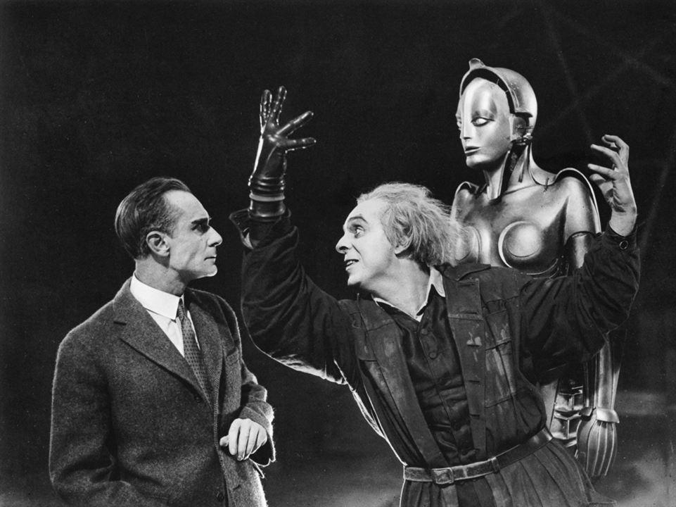 Metropolis : Bild Alfred Abel, Brigitte Helm, Rudolf Klein-Rogge