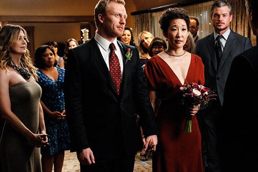 Grey's Anatomy - Die jungen Ärzte : Bild Chandra Wilson, Ellen Pompeo, Eric Dane, Kevin McKidd, Sandra Oh