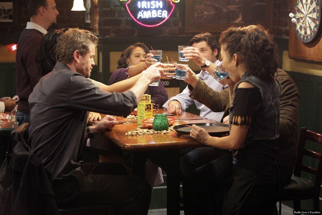 Grey's Anatomy - Die jungen Ärzte : Bild Chandra Wilson, Eric Dane, Patrick Dempsey, Sandra Oh, Sara Ramirez