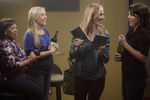 Bild Chandra Wilson, Jessica Capshaw, Kim Raver, Sara Ramirez