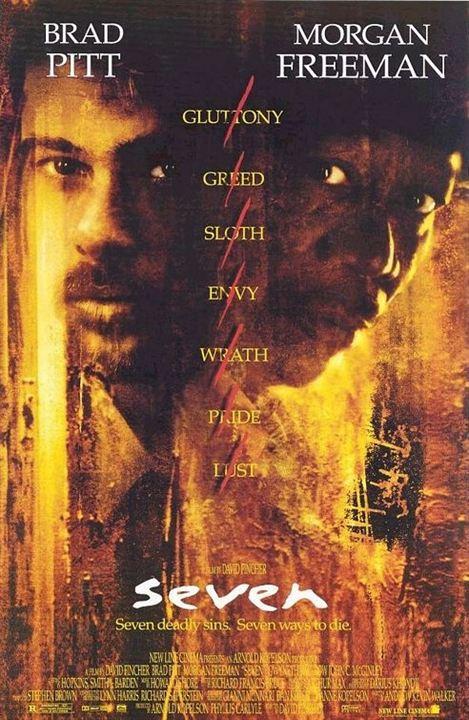Sieben : Kinoposter