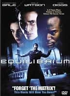 Equilibrium : Kinoposter