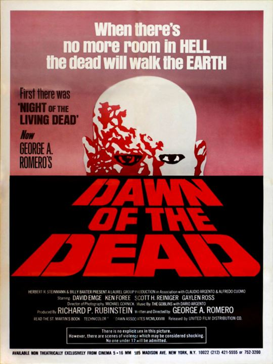Zombie - Dawn Of The Dead : Kinoposter
