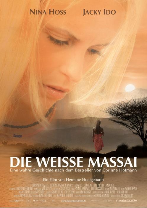 Die weiße Massai : Kinoposter