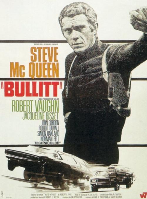 Bullitt : Kinoposter