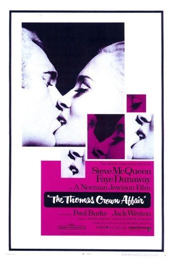Thomas Crown ist nicht zu fassen : Kinoposter