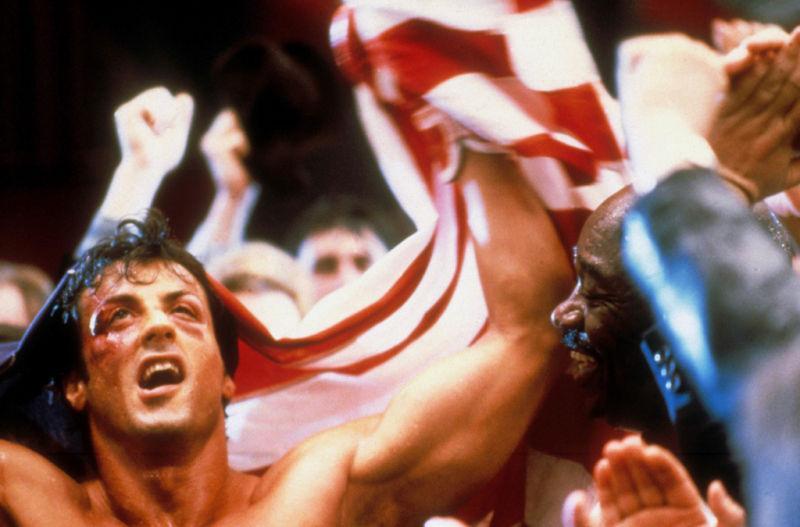 Rocky IV - Der Kampf des Jahrhunderts : Bild Sylvester Stallone