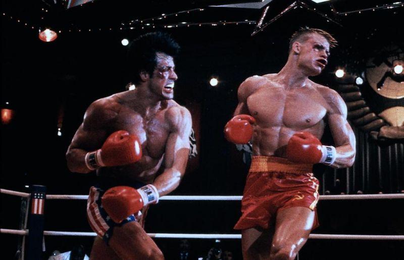 Rocky IV - Der Kampf des Jahrhunderts : Bild Dolph Lundgren, Sylvester Stallone