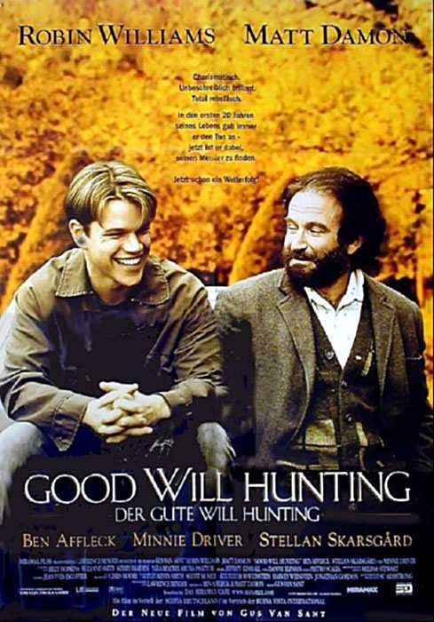 Good Will Hunting : Kinoposter