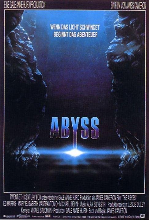 Abyss - Abgrund des Todes : Kinoposter