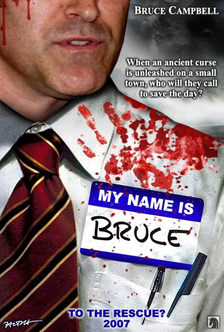 My Name Is Bruce : poster
