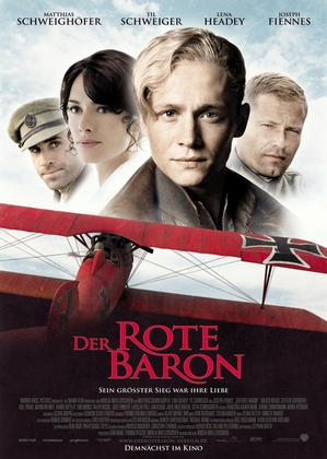 Der Rote Baron : Kinoposter