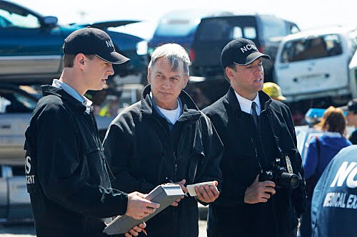 Navy CIS : Bild Mark Harmon, Michael Weatherly, Sean Murray
