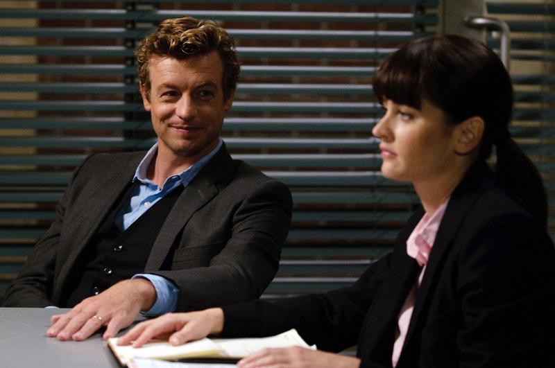 The Mentalist : photo Robin Tunney, Simon Baker