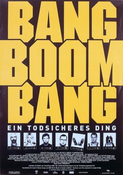 Bang Boom Bang : Kinoposter