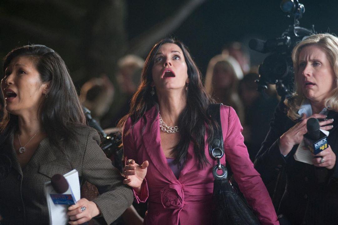 Scream 4 : Bild Courteney Cox, Wes Craven