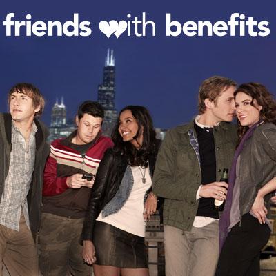 Friends With Benefits : Bild Danneel Ackles, Fran Kranz, Ian Reed Kesler, Jessica Lucas, Ryan Hansen