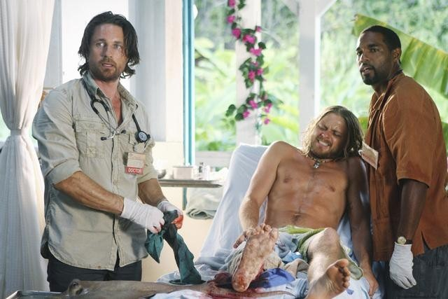 Off The Map : Bild Jason George (II), Martin Henderson