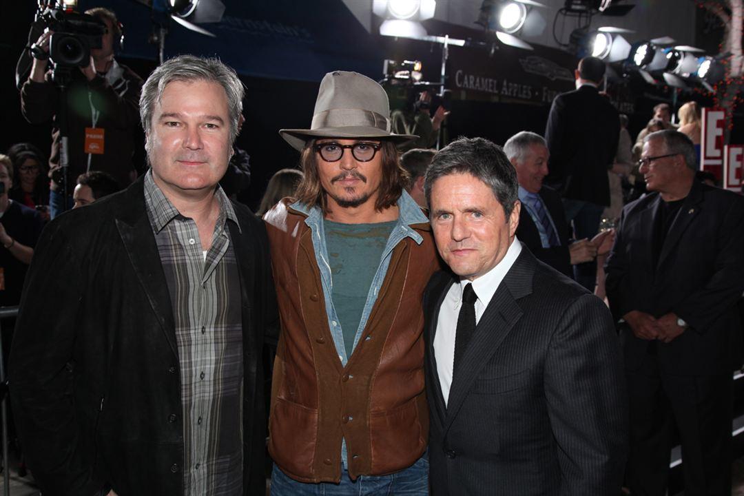Rango : Bild Gore Verbinski, Johnny Depp