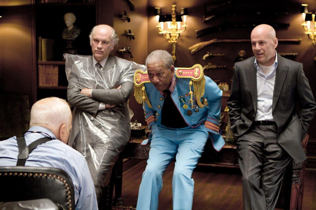 R. E. D. : Bild Bruce Willis, John Malkovich, Morgan Freeman