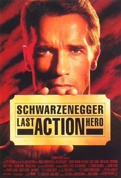 Last Action Hero : Kinoposter