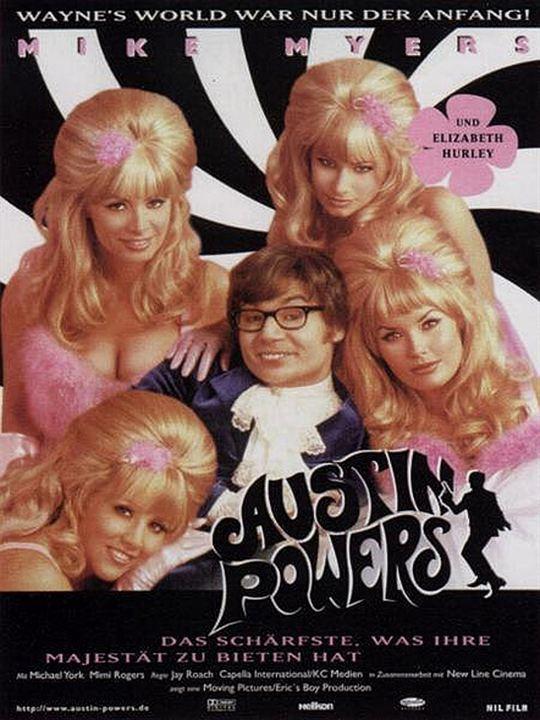 Austin Powers – Das schärfste, was ihre Majestät zu bieten hat : Kinoposter