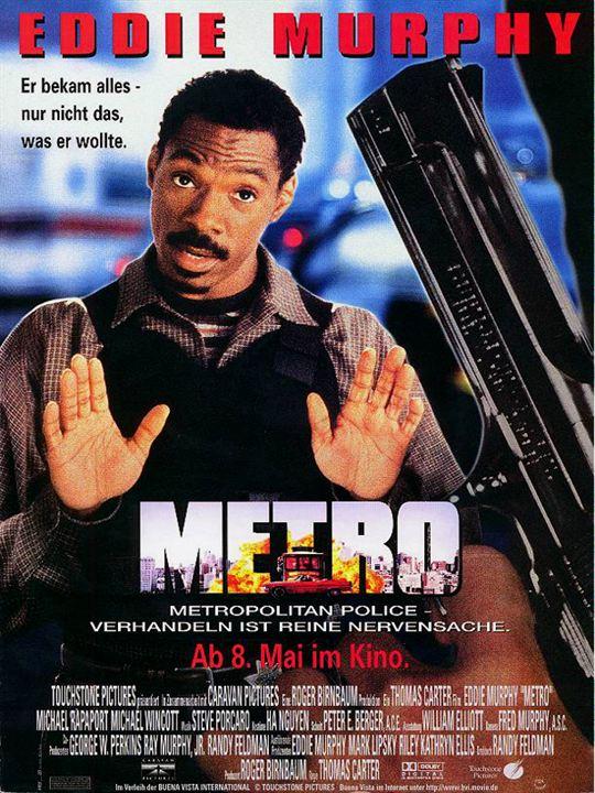Metro - Verhandeln ist reine Nervensache : Kinoposter