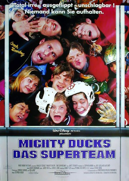 Mighty Ducks - Das Superteam : Kinoposter