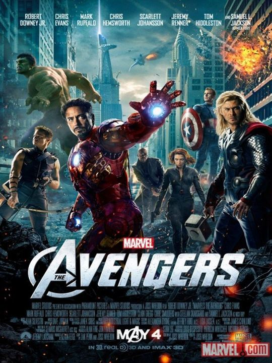Marvel's The Avengers : Kinoposter