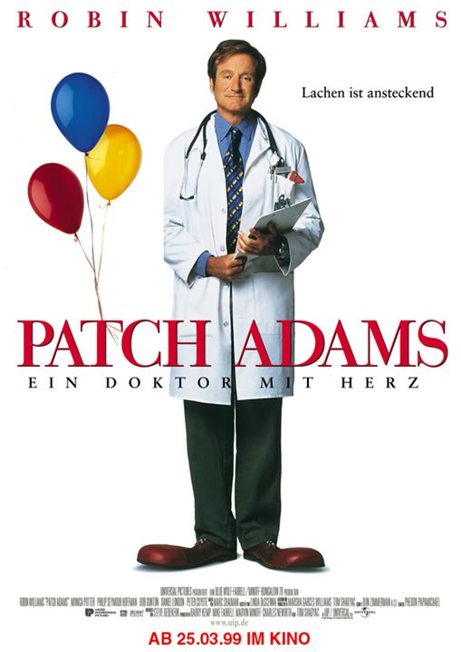 Patch Adams : Kinoposter