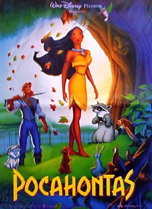 Pocahontas : Kinoposter
