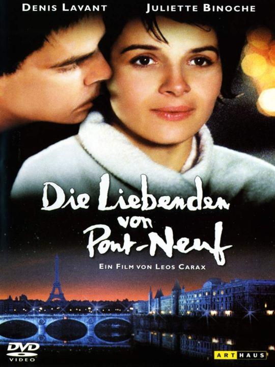 Die Liebenden von Pont-Neuf : Kinoposter