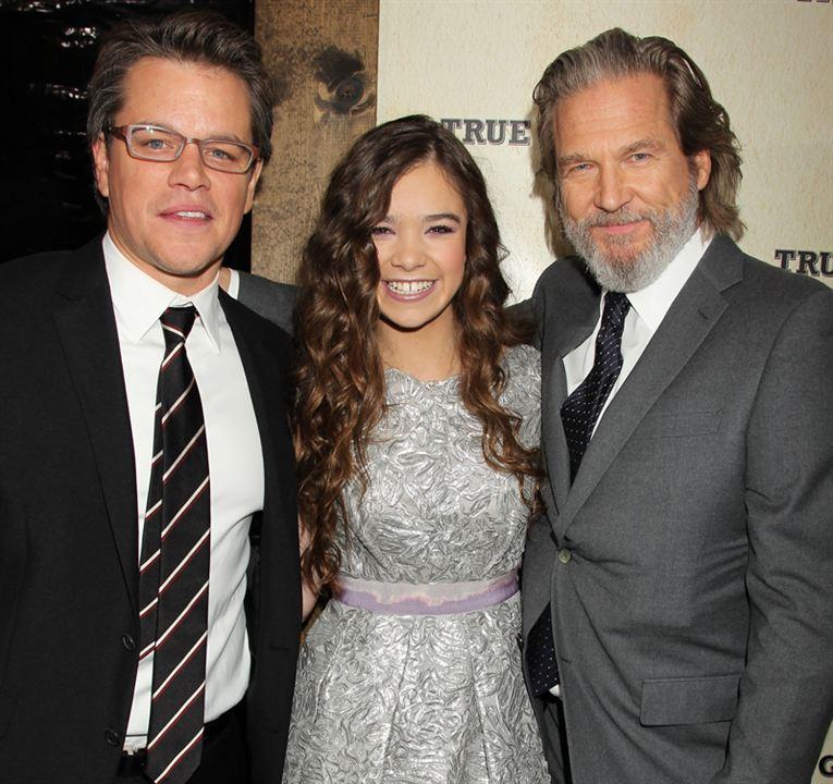 True Grit : Bild Hailee Steinfeld, Jeff Bridges, Matt Damon