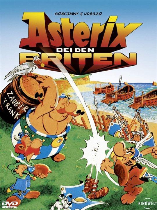 Asterix bei den Briten : Kinoposter