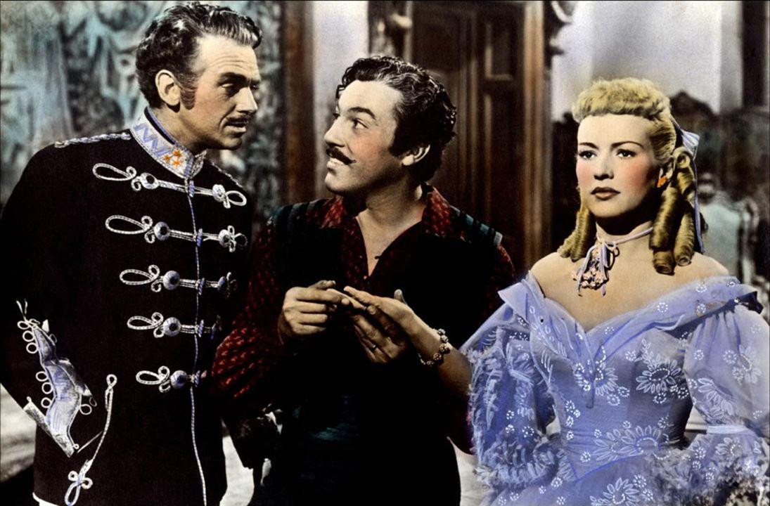 Die Frau im Hermelin : Bild Betty Grable, Otto Preminger